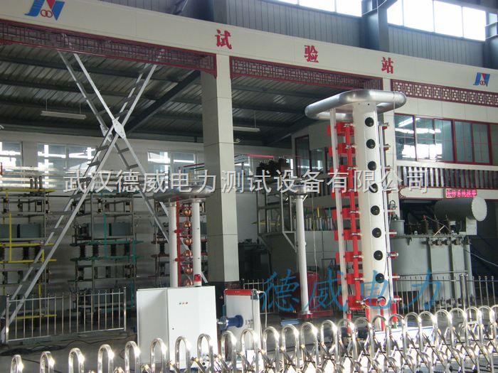 dw-110kv试验站设备区-变压器试验站建设