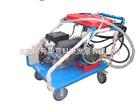 汽油机驱动高压水管道清洗机移动式