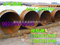 输送天然气直埋管道,直埋保温钢管厂家