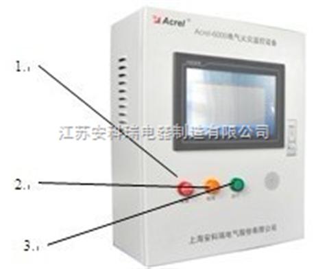 Acrel-6000剩余電流電氣火災監控系統