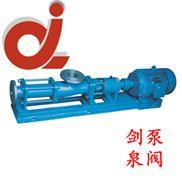 G40-2整体不锈钢单螺杆泵