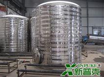 湖南长沙圆柱形不锈钢水箱