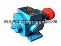 不适用输送高度挥发ZYB系列增压泵,齿轮泵KCB-4100机械密封